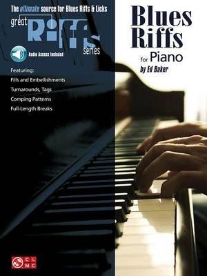 Blues Riffs for Piano (Paperback): E.D. Baker
