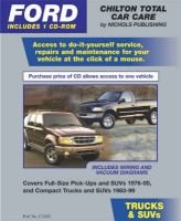 CD Pkg-Ford Trucks & Suvs (CD-ROM): Chilton