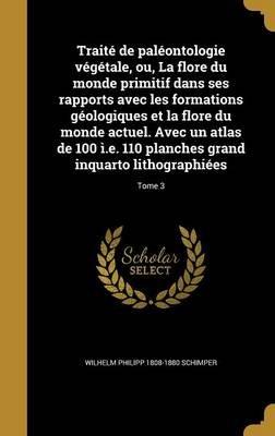 Traite de Paleontologie Vegetale, Ou, La Flore Du Monde Primitif Dans Ses Rapports Avec Les Formations Geologiques Et La Flore...