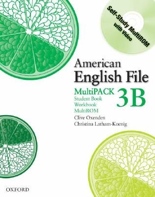 American English File Level 3: Student Book/Workbook Multipack B (Mixed media product): Clive Oxenden, Christina Latham-Koenig,...