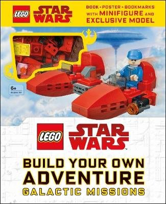 LEGO Star Wars Build Your Own Adventure Galactic Missions - With LEGO Star Wars Minifigure and Exclusive Model (Hardcover): Dk