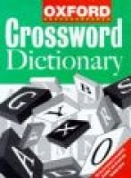 The Oxford Crossword Dictionary (Hardcover): Market House Books Ltd