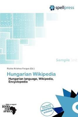 Hungarian Wikipedia (Paperback): Fergus Richie Krishna
