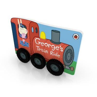 Peppa Pig: George's Train Ride (Board book): Peppa Pig