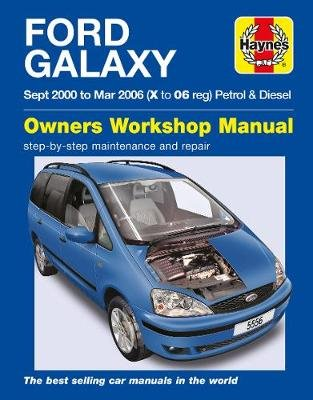 Ford Galaxy (Paperback): Haynes Publishing