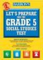 Let's Prepare for the New York State Grade 5 Social Studies Test (Paperback): Sharon Andrews Szeglowski
