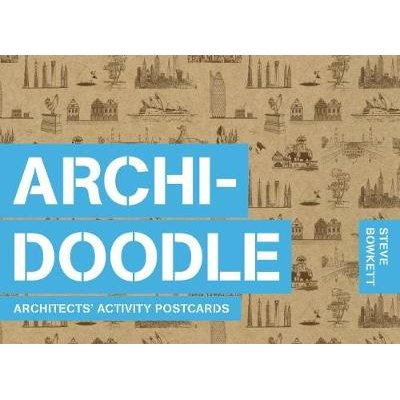 Archidoodle - Architects' Activity Postcards (Postcard book or pack): Steve Bowkett