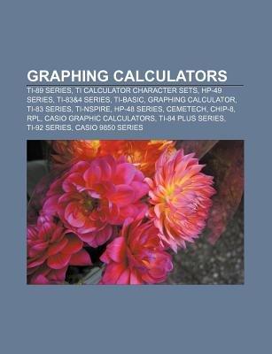 Graphing Calculators - Ti-89 Series, Ti Calculator Character Sets