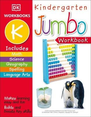 Jumbo Kindergarten Workbook (Paperback): Dk Publishing