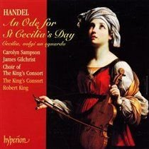 Various Artists - Ode for St Cecilia's Day, An (King, King's Consort, Sampson) (CD): George Frideric Handel, Carolyn...