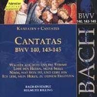 J. S Bach - Sacred Cantatas Bwv 140 143-145 (CD): J. S Bach