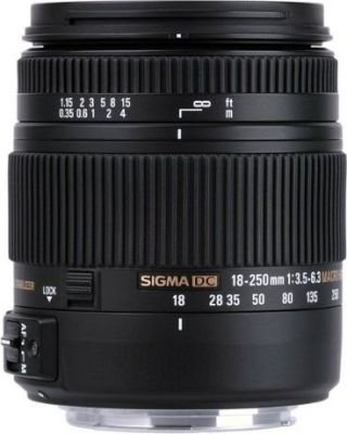SIGMA DC HSM MACRO Lens for Sony (18-250mm)(3.5-6.3):