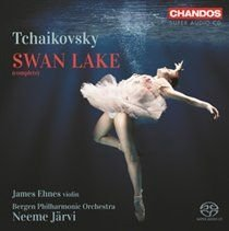 Various Artists - Tchaikovsky: Swan Lake (SACD super audio format, CD): Pyotr Ilyich Tchaikovsky, James Ehnes, Neeme Jarvi,...