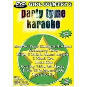 Party Tyme Karaoke:girl Country 2 (Region 1 Import DVD): Party Tyme Karaoke