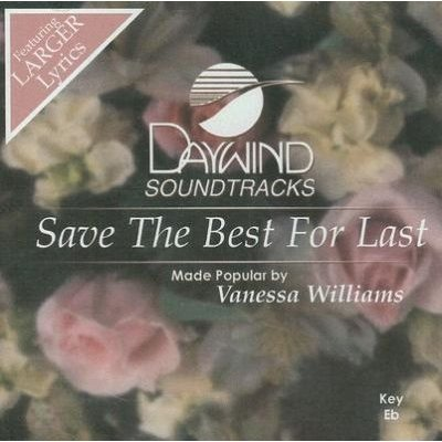 Vanessa Williams - Save the Best for Last (CD): Vanessa Williams