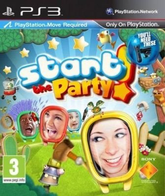 Start The Party - Move - Playstation Move Required (PlayStation 3, Game):