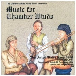 Us Navy Band - Music For Chamber Winds (CD): Us Navy Band
