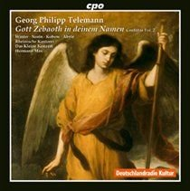 Various Artists - Georg Philipp Telemann: Gott Zebaoh in Deinem Namen Cantatas (CD): Georg Philipp Telemann, Hermann Max, Das...