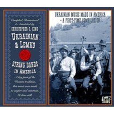 Ukranian & Lemko String Bands in America (CD): Various Artists