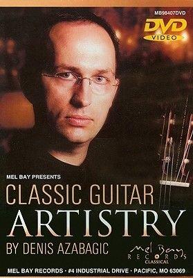 Azabagic,Denis - Classic Guitar Artistry (Region 1 Import DVD): Azabagic,Denis