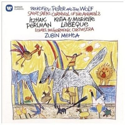 Various Artists - Prokofiev: Peter and the Wolf/Saint-Saens: Carnival of the Animal (CD): Sergei Prokofiev, Camille...