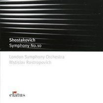 Various Artists - Symphony No. 10 (Rostropovich, Lso) (CD): Dmitri Shostakovich, London Symphony Orchestra, Mstislav...