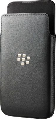 Blackberry Originals Leather Pocket for Blackberry Z10 (Black):