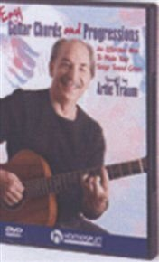 Easy Guitar Chords and Progressions (DVD): Artie Traum