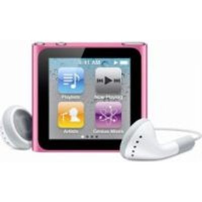 Apple iPod Nano (Pink)(16GB):