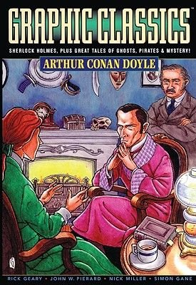 Arthur Conan Doyle (Graphic Adaptation) (Hardcover, Bound for Schools & Libraries ed.): Arthur Conan Doyle