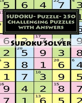 sudoku puzzle 250 challenging puzzles with answers sudoku puzzle