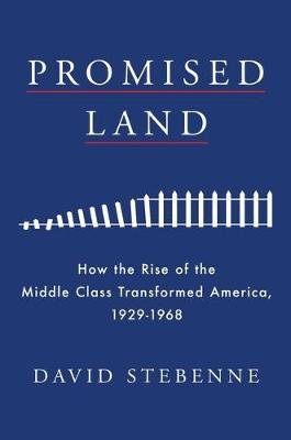 Promised Land - How the Rise of the Middle Class Transformed America, 1929-1968 (Hardcover): David Stebenne