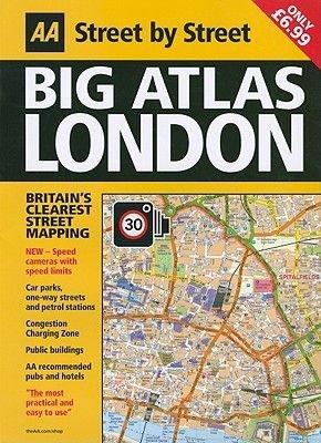 Big Atlas London (Paperback, 4th edition): AA Publishing
