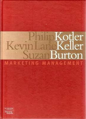 Marketing Management Hardcover Philip Kotler Kevin Lane Keller
