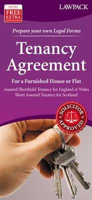 Tenancy Agreement  for a Furnished House or Flat - Assured Shorthold Tenancy for England & Wales; Short Assured Tenancy for...