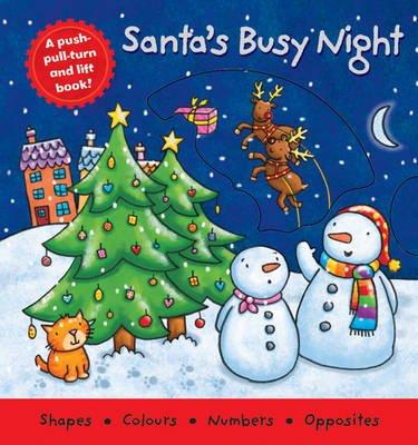 Santa's Busy Night (Board book):