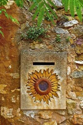 Vintage Letterbox with a Sunflower Design Journal - 150 Page Lined Notebook/Diary (Paperback): Cs Creations