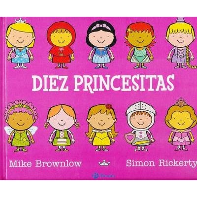 Diez Princesitas (Spanish, Hardcover): Michael Brownlow
