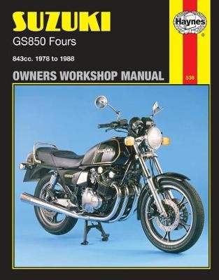 Suzuki Gs850 Fours (78 - 88) (Paperback, Revised edition): Haynes Publishing