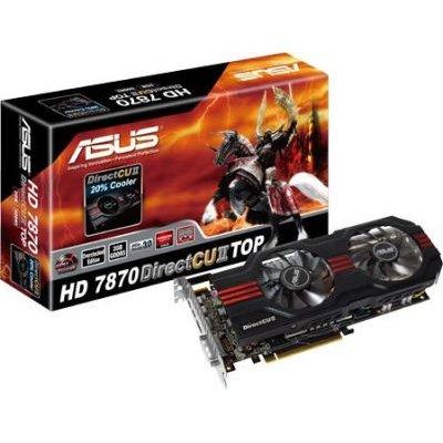 Asus AMD Radeon HD 7870 Graphics Card (2GB)(PCI-E 3.0):