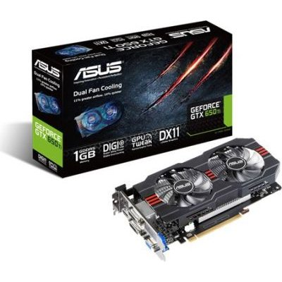 Asus NVIDIA GeForce GTX 650 Ti Graphics Card (1GB)(PCI-E 3.0):