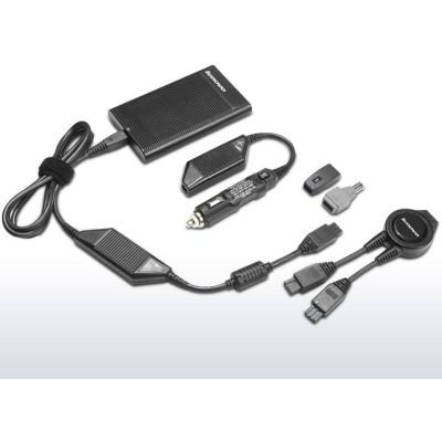 Lenovo Ultraslim AC/DC Combo Notebook Charger (90W):