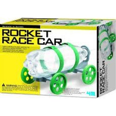 4M Science In Action - Rocket Race Car: