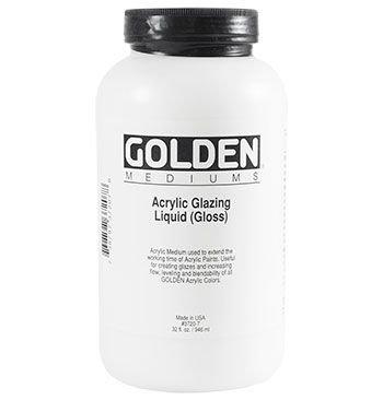 Golden Acrylic Medium - Glazing Liquid Gloss (946ml):