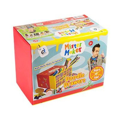 Mister Maker Bumper Box Kit - Doodle Drawers: