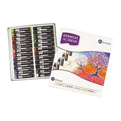 Derwent Academy Oil Pastels - Set of 24 in Box: