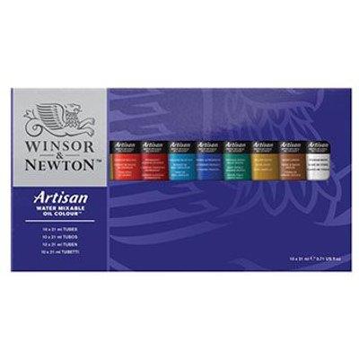 Winsor & Newton Artisan Water Mixable Oil Studio Set (10 x 37ml):