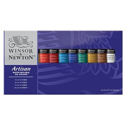 Winsor & Newton Artisan Water Mixable Oil Studio Set (10 x 37ml):