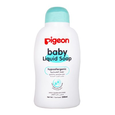 Pigeon I565 Hypoallergenic Liquid Baby Soap (200ml):