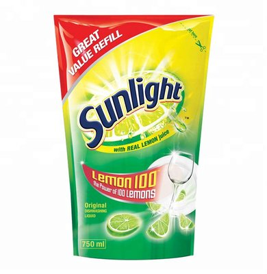 Sunlight Dishwashing Liquid (Refill Pouch | 750ml):
